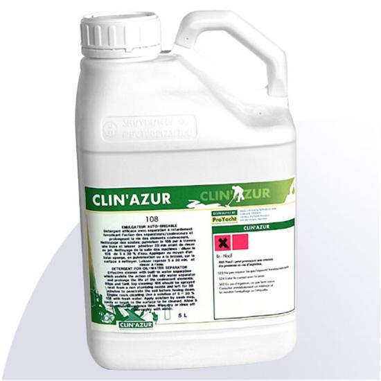Clin Azur 108 5L Detergent for Oil