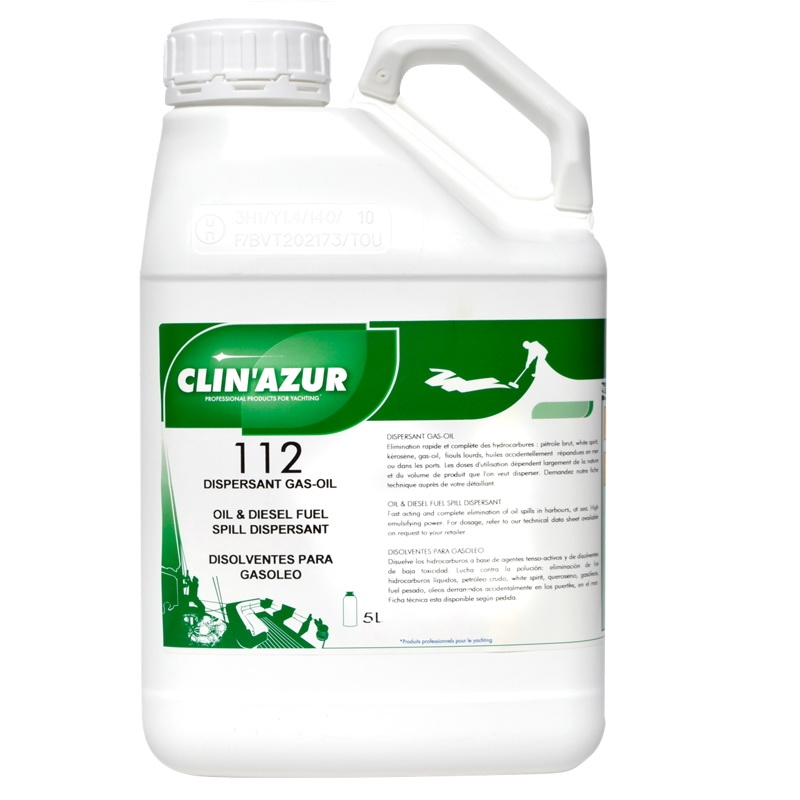 Clin Azur 112 5Ltr Oil and Diesel Fuel