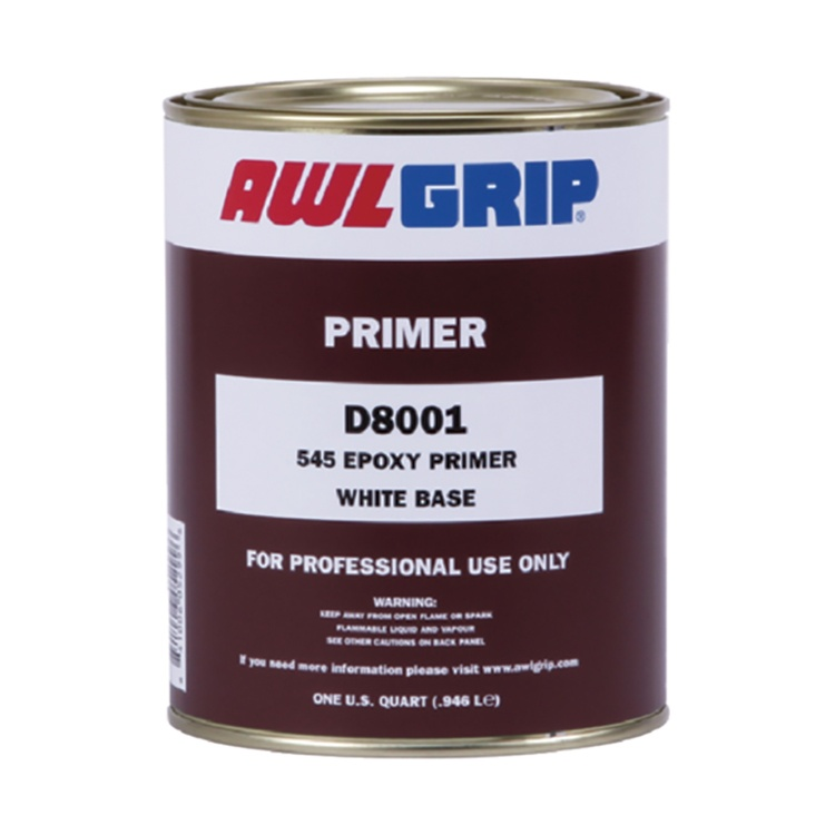 AWLGrip D8001 - 545 Epoxy Primer White Base
