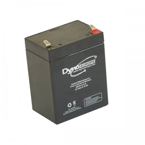 Agm battery 12v 2.9Ah / 2.3Ah c20 / c5 t1