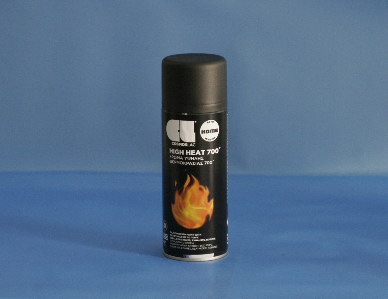 Cosmos-Lac N351 400ml HiHeat Black (Spray Can)