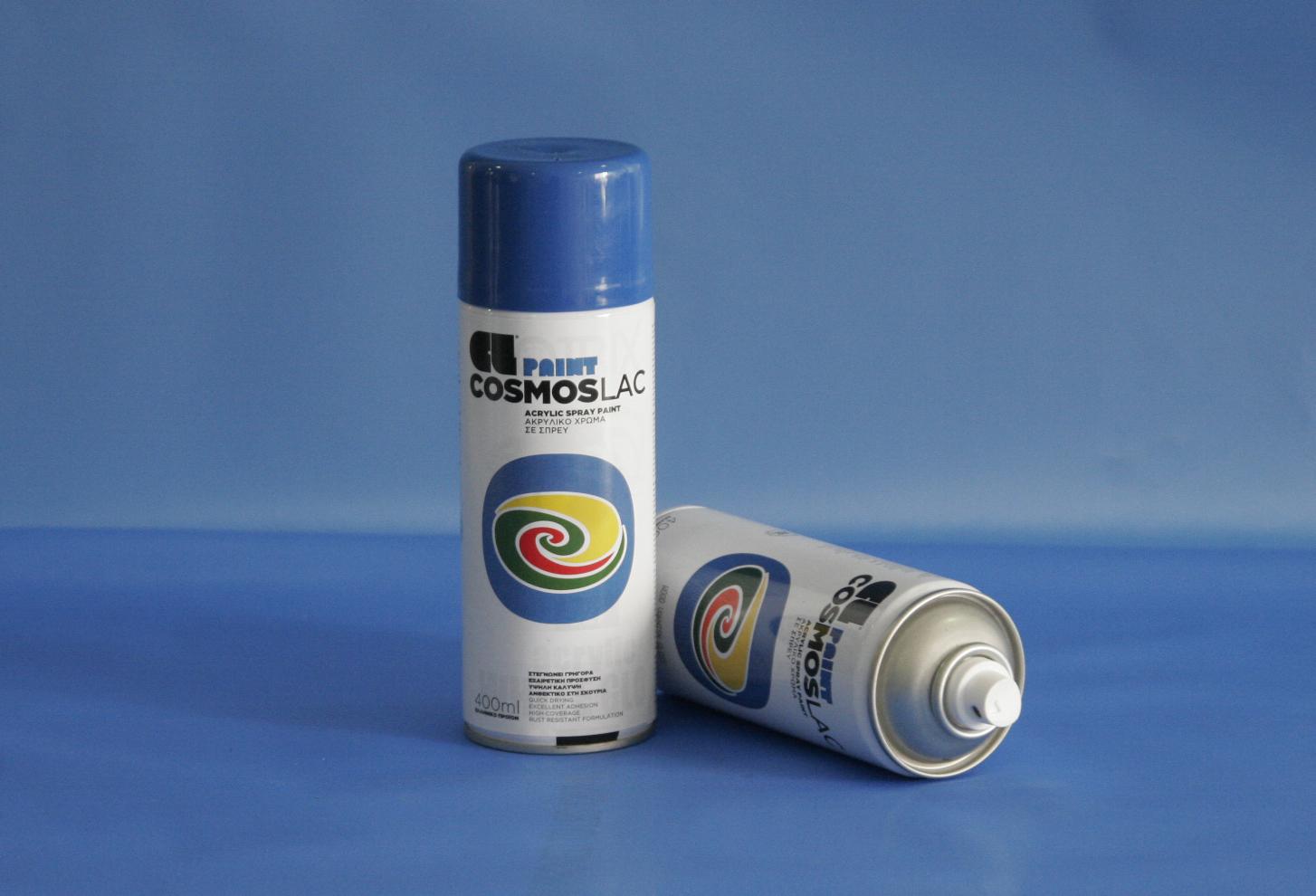 Cosmos-Lac N341 400ml Traffic Blue (Spray Can)