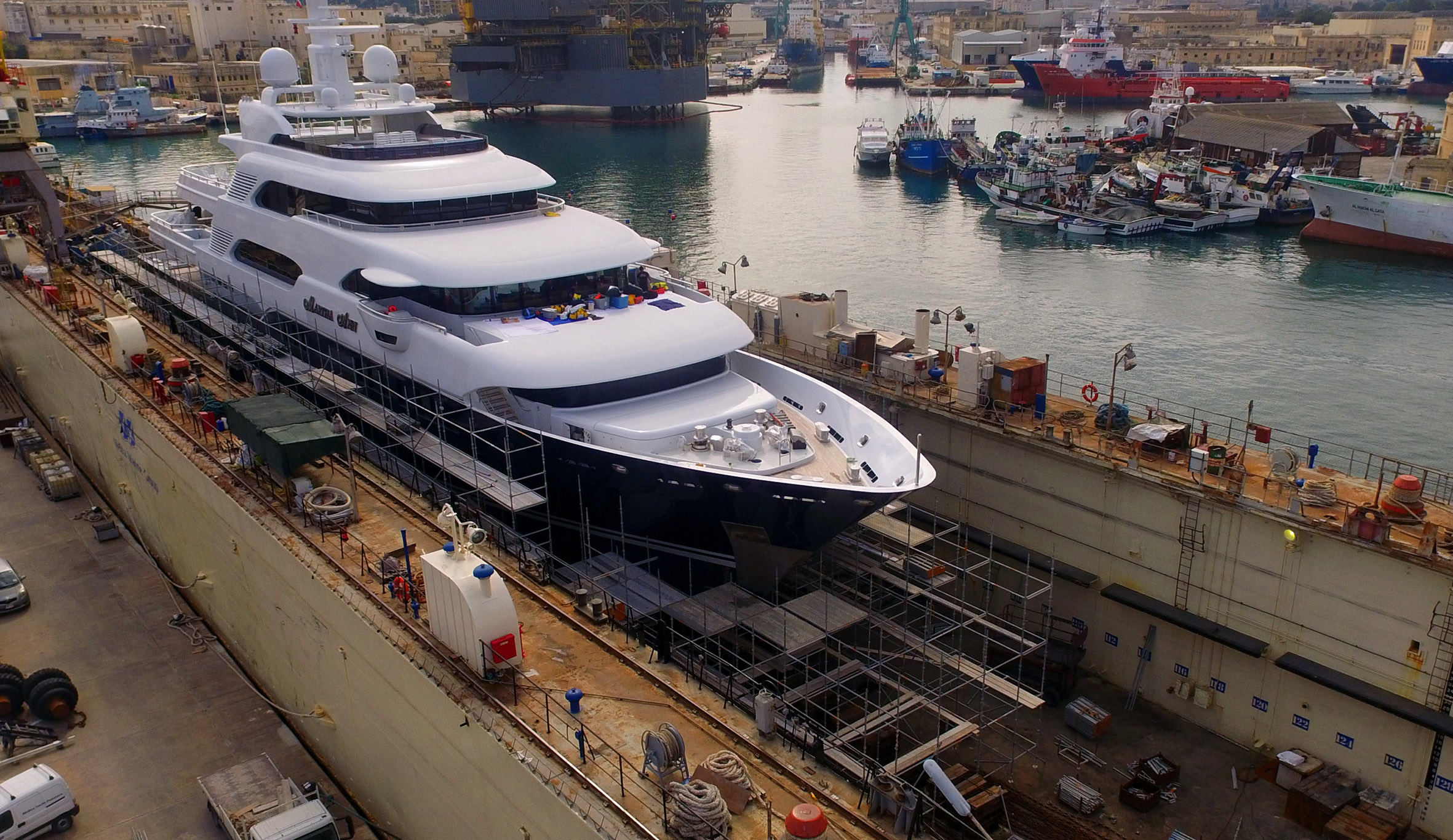 Melita Marine Shipyard Malta