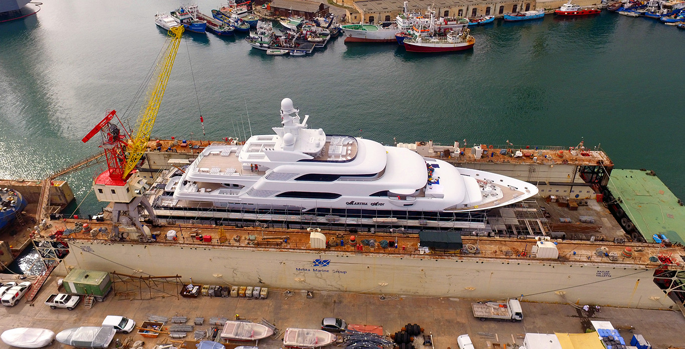 MY Martha Ann - Melita Marine Shipyard Malta