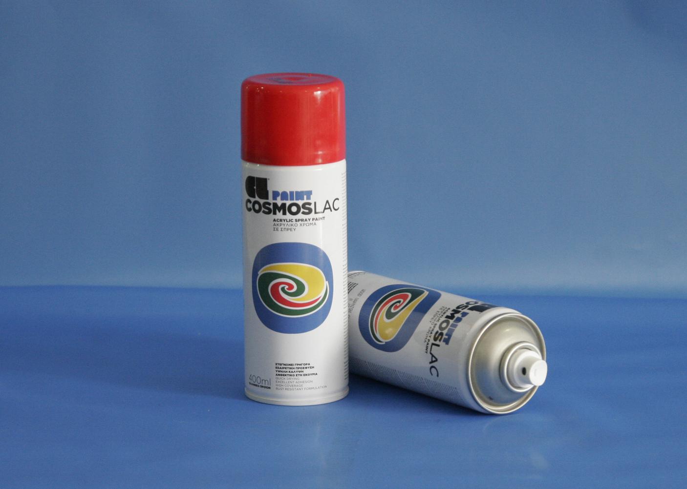 Cosmos-Lac N312 400ml Traffic Red (Spray Can)