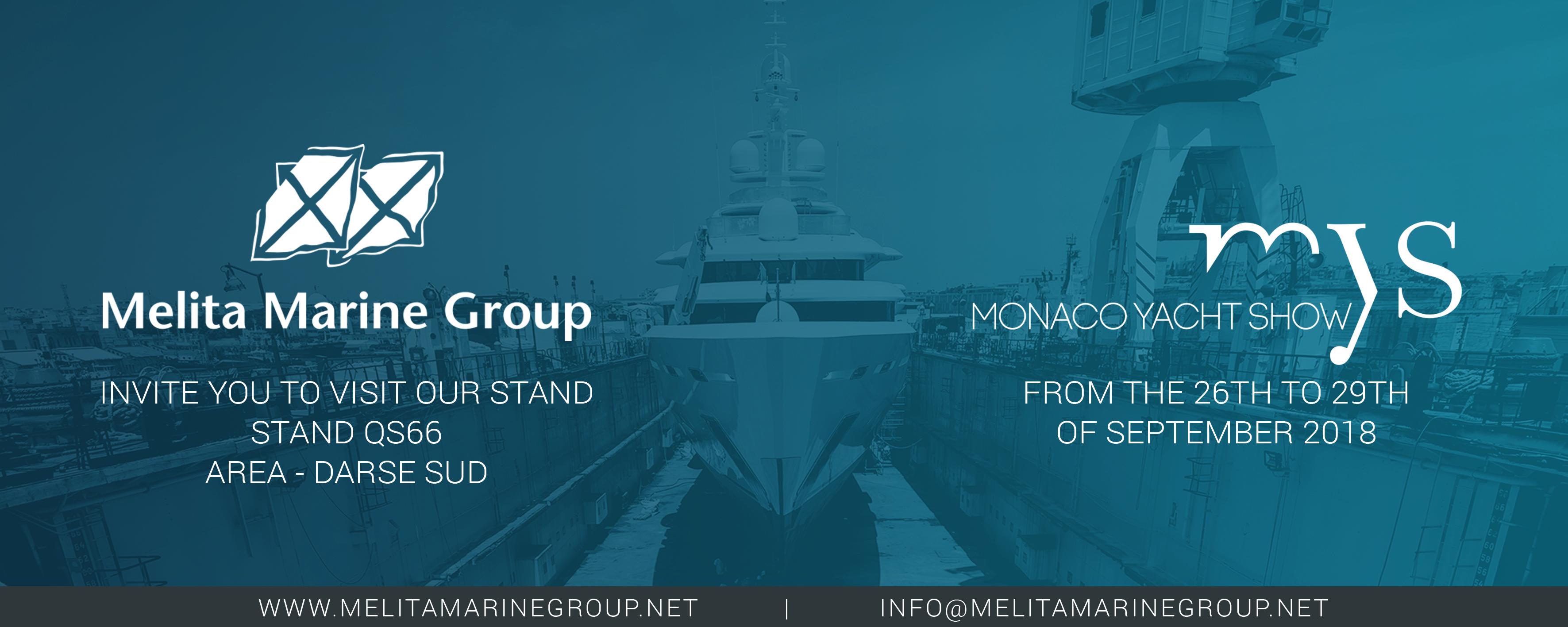 Monaco Yacht Show 2018 - Melita Marine Group