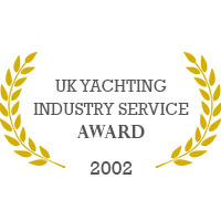 UK Yachting Industry Service, Award 2002 - Melita Marine
