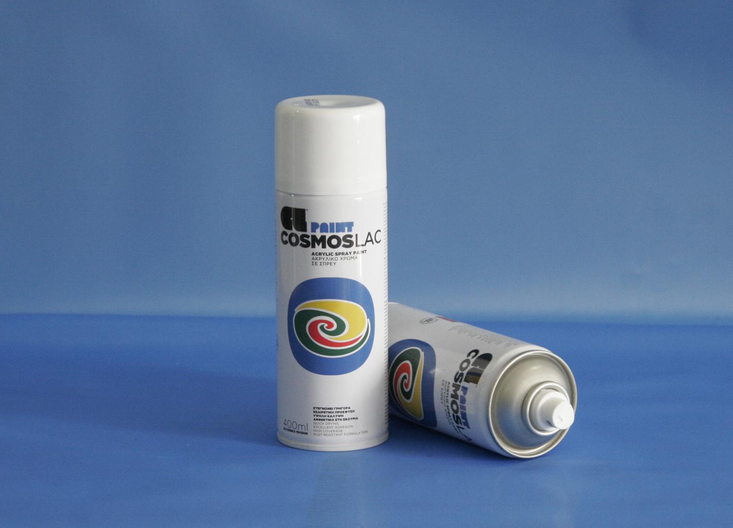 Cosmos-Lac N300 400ml Gloss White (Spray Can)