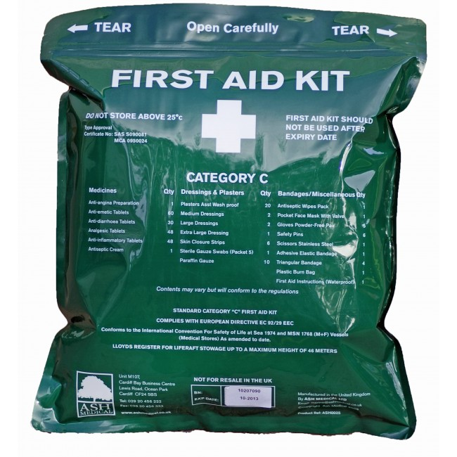 Category C. First Aid kit Soft Pack