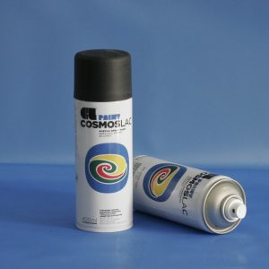 Cosmos-Lac N304 400ml Flat Black (Spray Can)