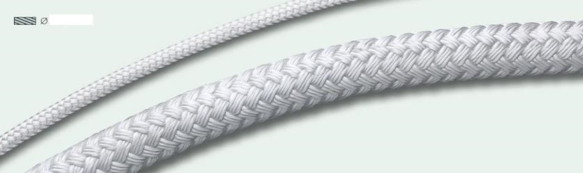 White Polyester Rope Braided